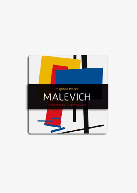 4 Malevich Coasters