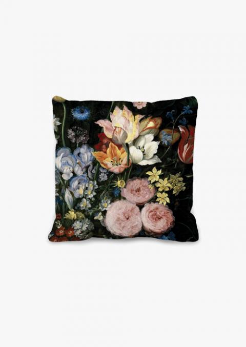 Baroque Flowers 45x45 cm Cushion