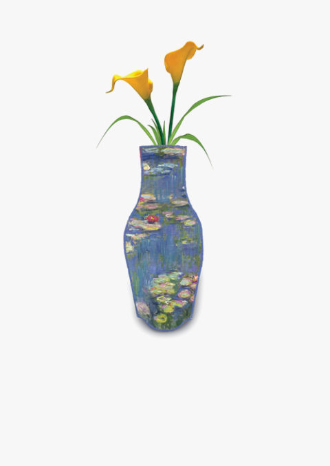 Monet Cotton Flower Vase
