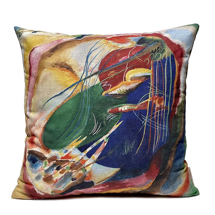 Cojín Kandinsky colección Thyssen-Bornemisza