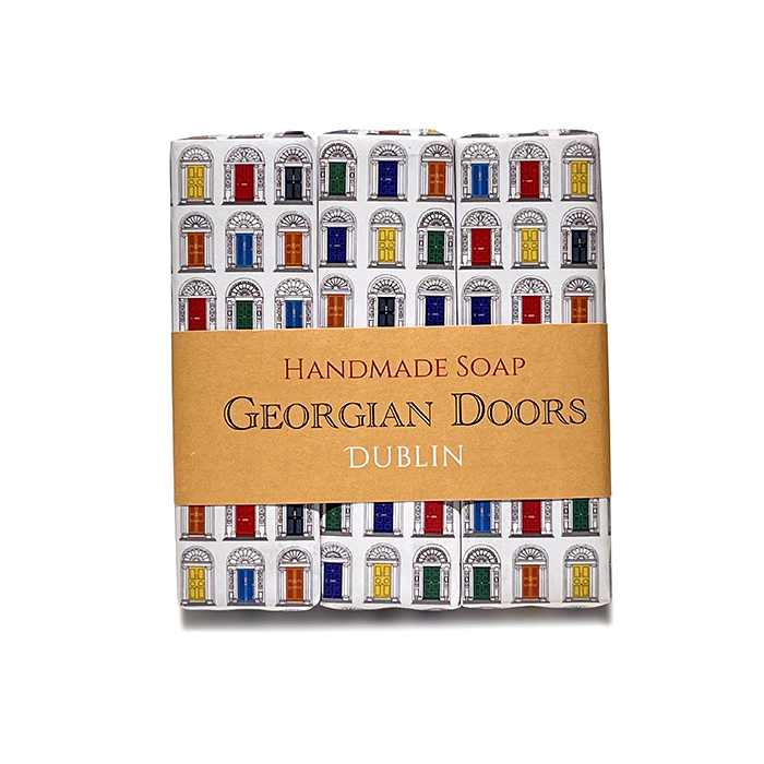 Trio de jabones Georgian Doors, Love Ireland Gift Co.