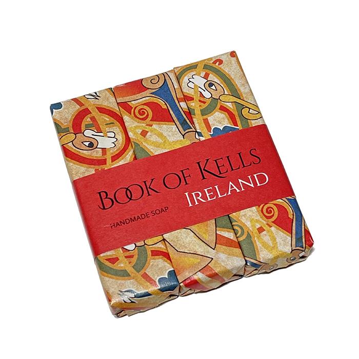 Trio de jabones Book of Kells, Love Ireland Gift Co.