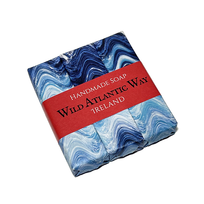Trio de jabones Wild Atlantic Wave, Love Ireland Gift Co.
